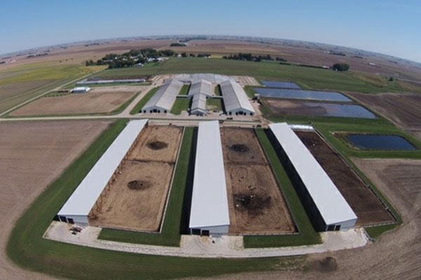 Van Voorst Concrete Inc. - Agricultural - Hickory Hill Farms Newkirk, IA