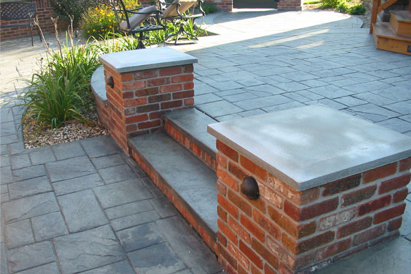 Van Voorst Concrete Inc. - Decorative - Residential House Patio Orange City, IA